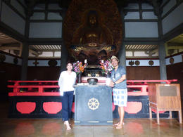 Japanese Temple in Oahu , Elley - May 2014