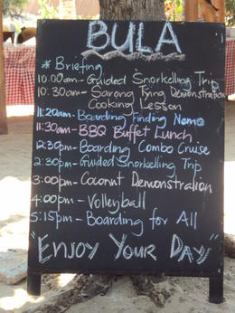 Photo of Fiji South Sea Island Day Cruise Activities for the Day