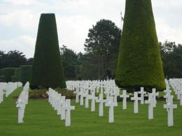 Coulville-sur Mer. We learned that there were 44 sets of brothers that are buried here, and one father and son., Matthew R - July 2009
