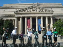 In front of the National Archives- no hands! - June 2010