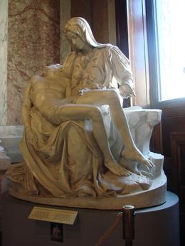 Micheal Angleo's Pieta' Sculpted in 1499, Charlene T - October 2010