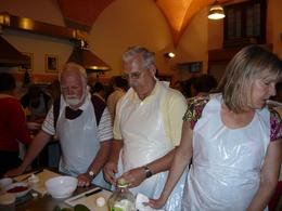 Photo of Florence Tuscan Cooking Class and Dinner in Florence Everyone has a part in this feast