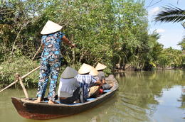 Photo of Ho Chi Minh City Mekong Delta Discovery Small Group Adventure Tour from Ho Chi Minh City Gentle ride along the Mekong