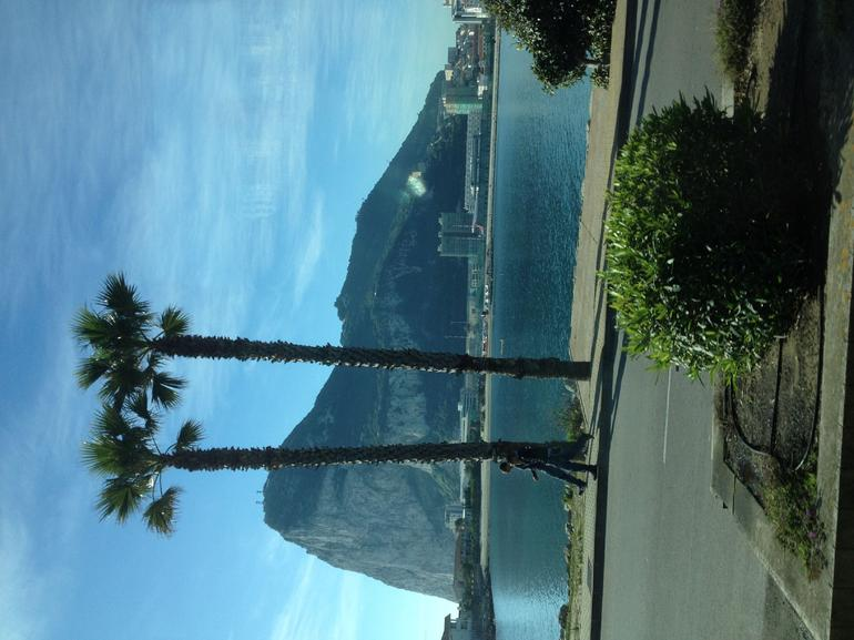 A nice view as we approached Gibraltar on the bus.