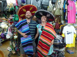 Hamming it up in Tijuana- after a couple of margaritas! , karla M - March 2013