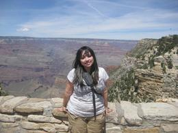 Me at the Grand Canyon., Jolie A - June 2010