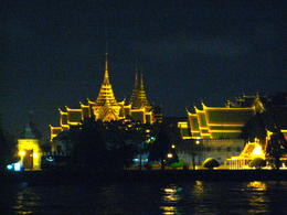 Photo of Bangkok Bangkok Dinner Cruise on the Chao Phraya River Grand Palace at Night
