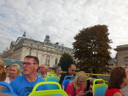 traveling around Paris on the hop-on hop-off bus , Latifah M - October 2014