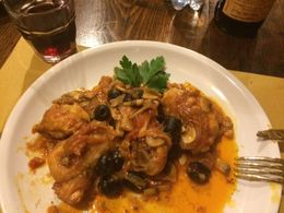 sample of what we cooked! Tuscan farmers Chicken, it was Awesome! , Steve N - November 2015
