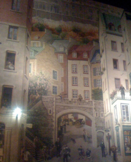 Photo of   Quebec City Mural Night