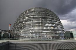 Walking around the interior of this amazing dome will give you an overview of much of Berlin., Stephanie G - April 2010