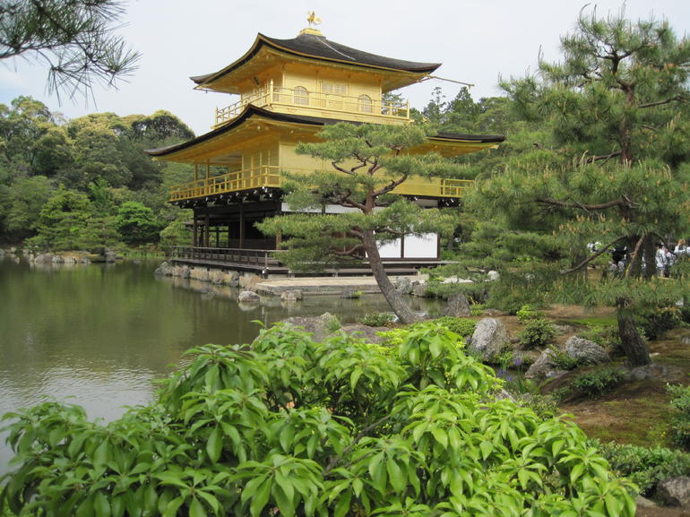 The Golden Pavilion, Kyoto - Kyoto