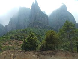 Photo of Barcelona Montserrat and Cava Trail Small Group Day Trip from Barcelona The mountain ridge