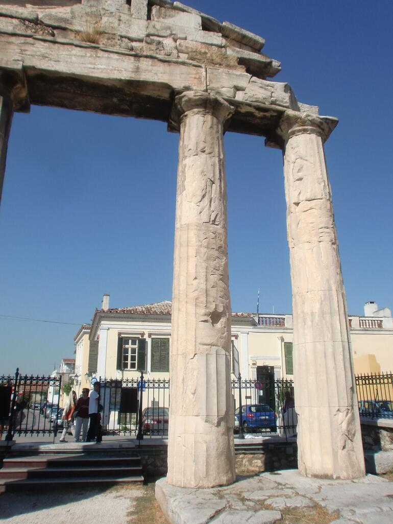 The Roman Forum in Athens -
