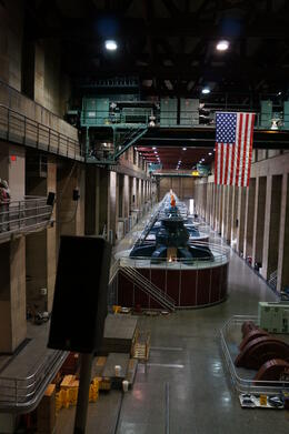 Photo of Las Vegas Ultimate Hoover Dam Tour turbine room