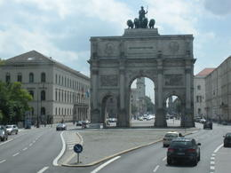 Coming up on the Siegestor , Thomas E - June 2011