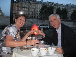 Photo of Paris Bateaux Parisiens Dinner Cruise on the Seine 40th Wedding Anniversary
