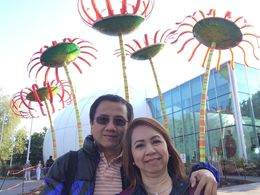Cecilio and Virginia Flores , Cecilio F - May 2015