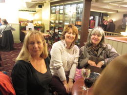 Gabriele, Marion and Anne in great spirits! , Mr R J V - October 2012