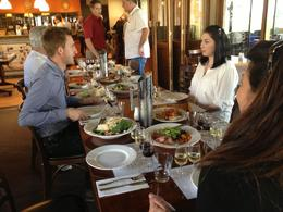 Lunch with wine pairings, Cat - December 2013