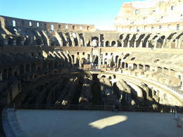 Photo of Rome Skip the Line: Ancient Rome and Colosseum Half-Day Walking Tour inside the colosseum