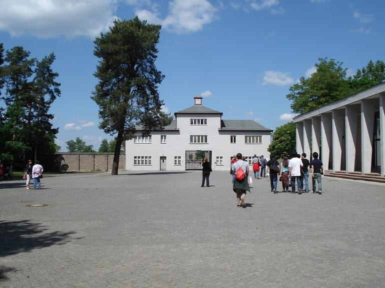 Main entrance to camp - Berlin