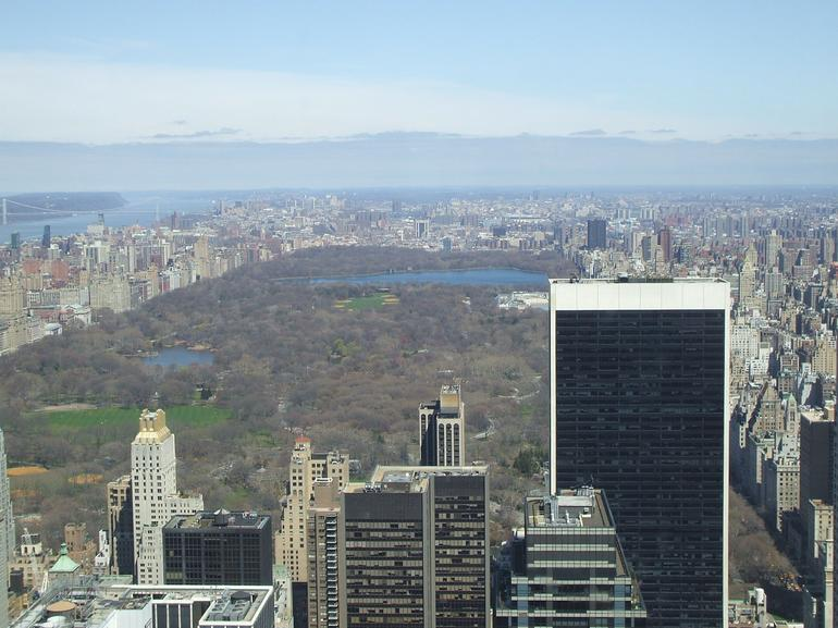 North view from Rockefeller Center - New York City