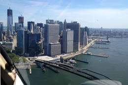 View from the helicopter, Jules & Brock - September 2012