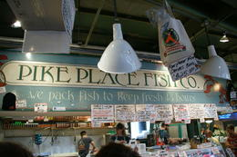 Photo of Seattle Seattle in One Day: Sightseeing Tour including Space Needle and Pike Place Market Pike's Fish Market