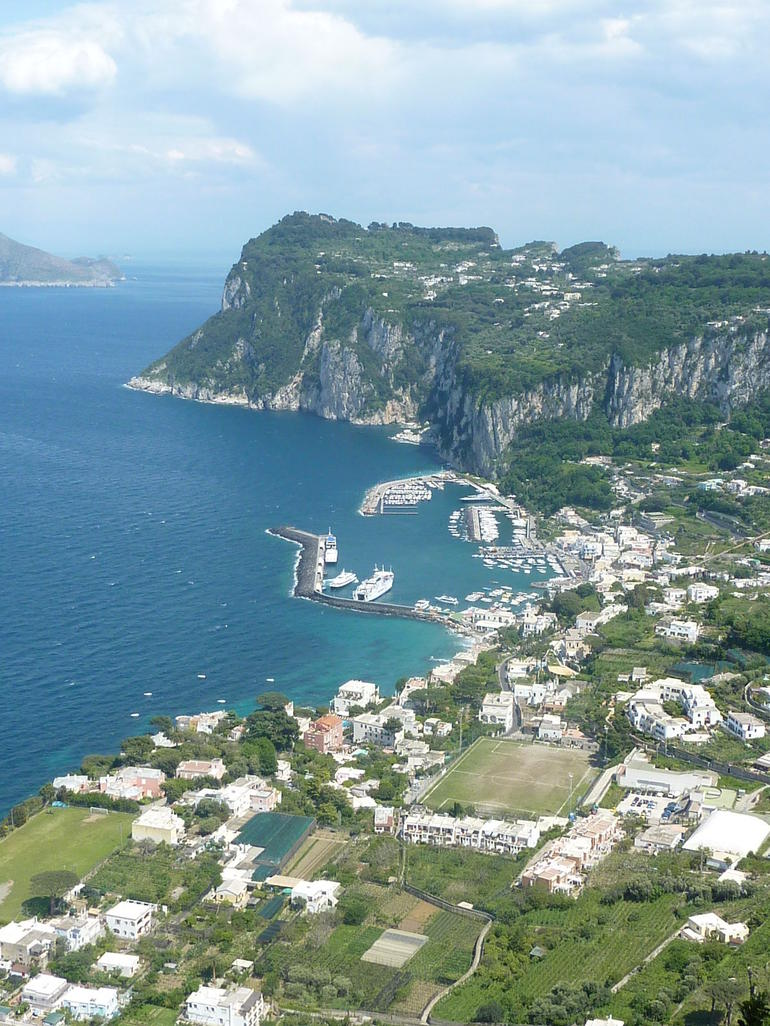 Port of Capri - Rome