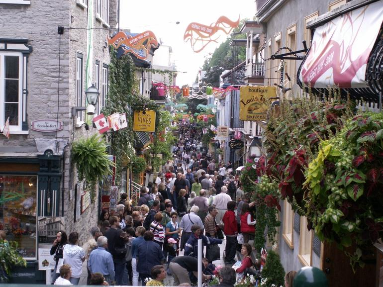 Quebec City - Old Town - Montreal