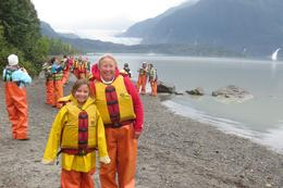 Photo of Juneau Mendenhall Glacier Rafting Tour from Juneau Ready to go rafting