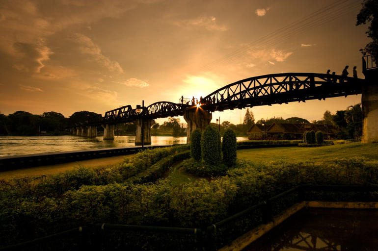River Kwai Bridge - Bangkok
