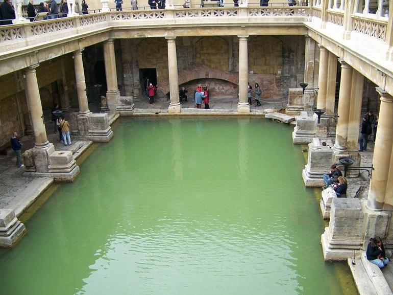 Roman Baths at Bath, England - London