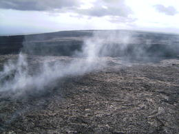 Photo of Big Island of Hawaii 45-Minute Open-Door Volcanoes Helicopter Flight Steam vent