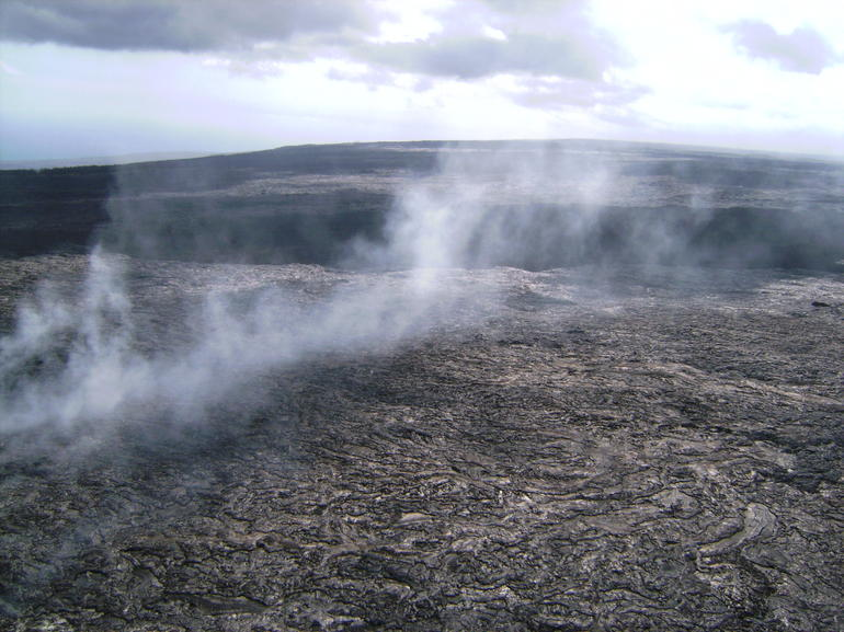 Steam vent - Big Island of Hawaii