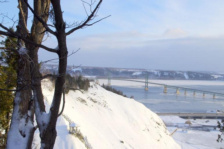 Trip to Montmorency Falls 12/23/12 - Montreal