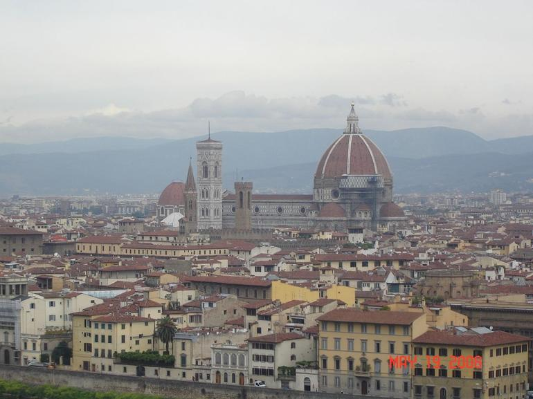 View from Piazzale Michelangelo, Florence - Florence
