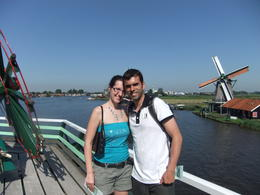 With the windmills in the background, Fernando Camarate Santos - August 2012