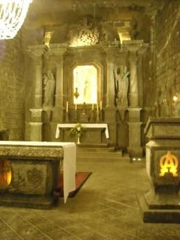 Photo of Krakow Wieliczka Salt Mine Half-Day Trip from Krakow A chapel altar
