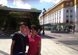 The lunch break gave us the chance to explore Seville on our own. , Sara K - September 2014