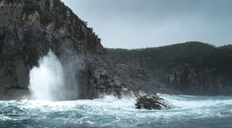 The wild cliffs of Bruny. , Amy L - September 2013
