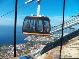 Newly opened cable car provides a quick ride to a fantastic view! , Sandra K - October 2012