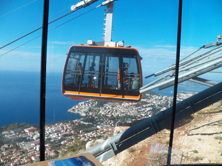 cable car in Dubrovnik - Dubrovnik