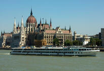 Photo of Budapest Danube River