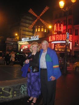 Photo of Paris Moulin Rouge Show Paris Doug and Charlotte