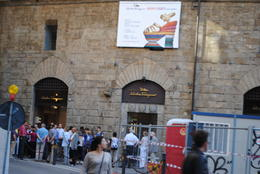 This was our meeting point (Piazza Santa Trinita) for the Concert and Dinner in Florence. It is right across from the Ferragamo Museum and next to the tower. We walked through the old parts of ... , NZM - May 2012