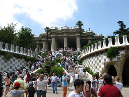 Photo of Barcelona Barcelona and Montserrat Tour with Skip-the-Line Park Güell Entry and Hotel or Port Pickup Guadi