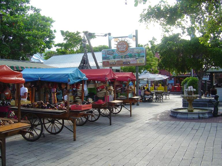 Inside Mallory Square - Key West