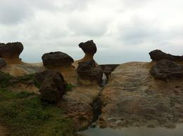Photo of Taipei Northern Coast Half-Day Tour including Yehliu Park from Taipei Lovely rocks